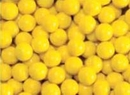 Yellow Mini Candy Balls 2 1/2lb Sixlets