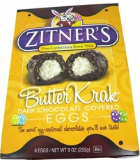 Zitner's  Butter Krak Eggs 8ct ( Unwrapped)