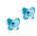 5mm Aquamarine Butterfly