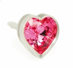 6mm Rose Heart