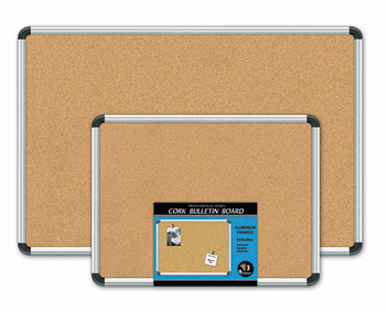Aluminum Framed Cork Boards 18x24
