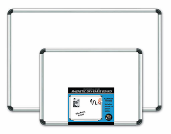 Aluminum Framed Magnetic Dry-Erase Boards 18x24