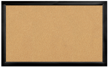 Black Framed Cork Board 22 x 35