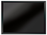 Black Framed Magnetic  Black Surfaced Wet Erase Board 18x24