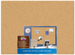 Canvas Style Cork Board 17x23