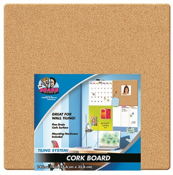 Cork Canvas Board 14x14