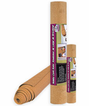 "Hobby Cork Rolls with Adhesive Backing - 1/16"" x 1' x 2'"
