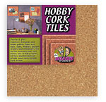 "Light Cork Tiles - 4pk5mm x 12"" x 12"""
