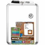 Metalix Framed Magnetic Dry Erase Boards 8.5x11