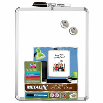 Metalix Magnetic Dry-Erase Board 11x14