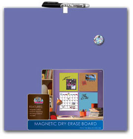 Style Unframed Magnetic Dry Erase Board 14X14 - Canvas Style