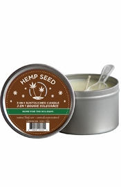 3 In 1 Suntouched Massage Oil Candle With Hemp Home For The Holidays 6 Ounce