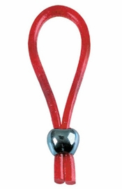 Adjustable Loop Enhancer  Red Glitter - Sex Toy