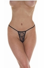 Beautiful Sranger - Sheer Lace Thong Panty