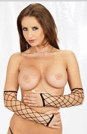 Black Criss Cross Fingerless Gloves - Sexy Lingerie