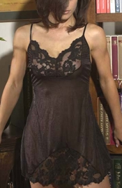 Black Maria - Lingerie Slip Dress