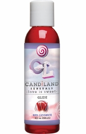 Candiland Sensuals Body Glide Red Licorice 4 Ounce