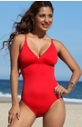 Cocoa Beach - Red One Piece Swimsuit