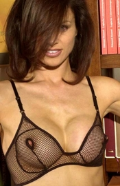 Come Follow Me - Nippleless Fishnet Bra
