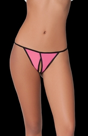 Craving Constellations - Crotchless Thong Panty