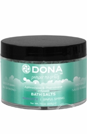 Dona Bath Salt Sinful Spring 7.5oz