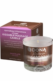 Dona Kissable Massage Candle Choco 7.5oz