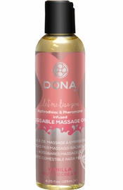 Dona Kissable Massage Oil Vanilla 4oz