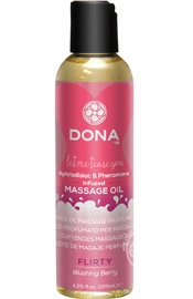 Dona Massage Oil Blushing Berry 4oz