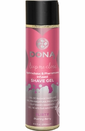 Dona Shave Gel Blushing Berry 8.5 oz.