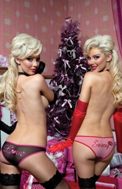 Double The Pleasure - 2 Pack Mesh Hipster Panties