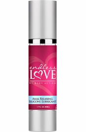 Endless Love Anal Relaxing Silicone Based Lubricant 1.7 Ounce