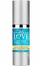 Endless Love For Men Anal & Intimate Area Bleaching Gel 1 Ounce