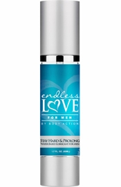 Endless Love For Men Stay Hard & Prolong Water Based Lubricant 1.7 Ounce
