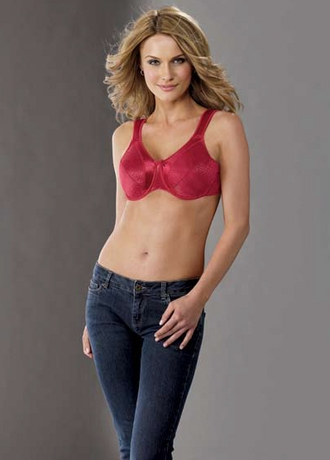 Etched Satin Minimizer - Full Figure Bra