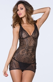 Everything Has Changed - Lace Chemise 2-PC Set Lingerie Set