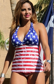 Flag Full 'o Stars - Tankini swimsuit