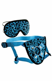 Furplay Harness and Mask Blue - Sex Toy
