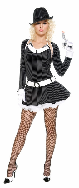Bugsy - Sexy Women's Gangster Costume