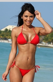Ibiza - Red String Bikini - Regular price $69.00