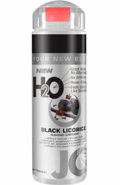Jo H2O Flavored Lube Water Based Black Licorice 5.25 Ounce