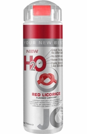 Jo H2O Flavored Lube Water Based Red Licorice 5.25 Ounce