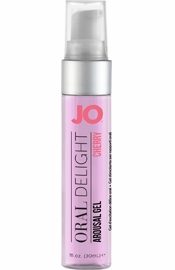 Jo Oral Delight Flavored Arousal Gel Cherry Burst 1 Ounce