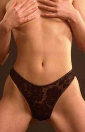 Love with a Broken Heart - Lace Thong Panty