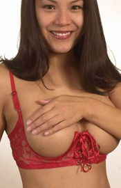 Luscious Mama - Full Figure Open Cup Bra