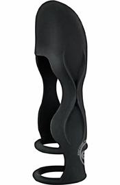 Mack Tuff Sleek Penis Sheath Black
