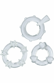 Magic C-Rings - Clear - Sex Toy