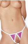 Manhunters - Crotchless G-String Panty