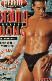 Men's Remote Control Vibrating Thong