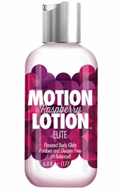 Motion Lotion  Elite Flavored Body Lotion – Raspberry 6 fl. oz.