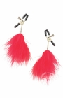 Nipple Clamps With Feathers